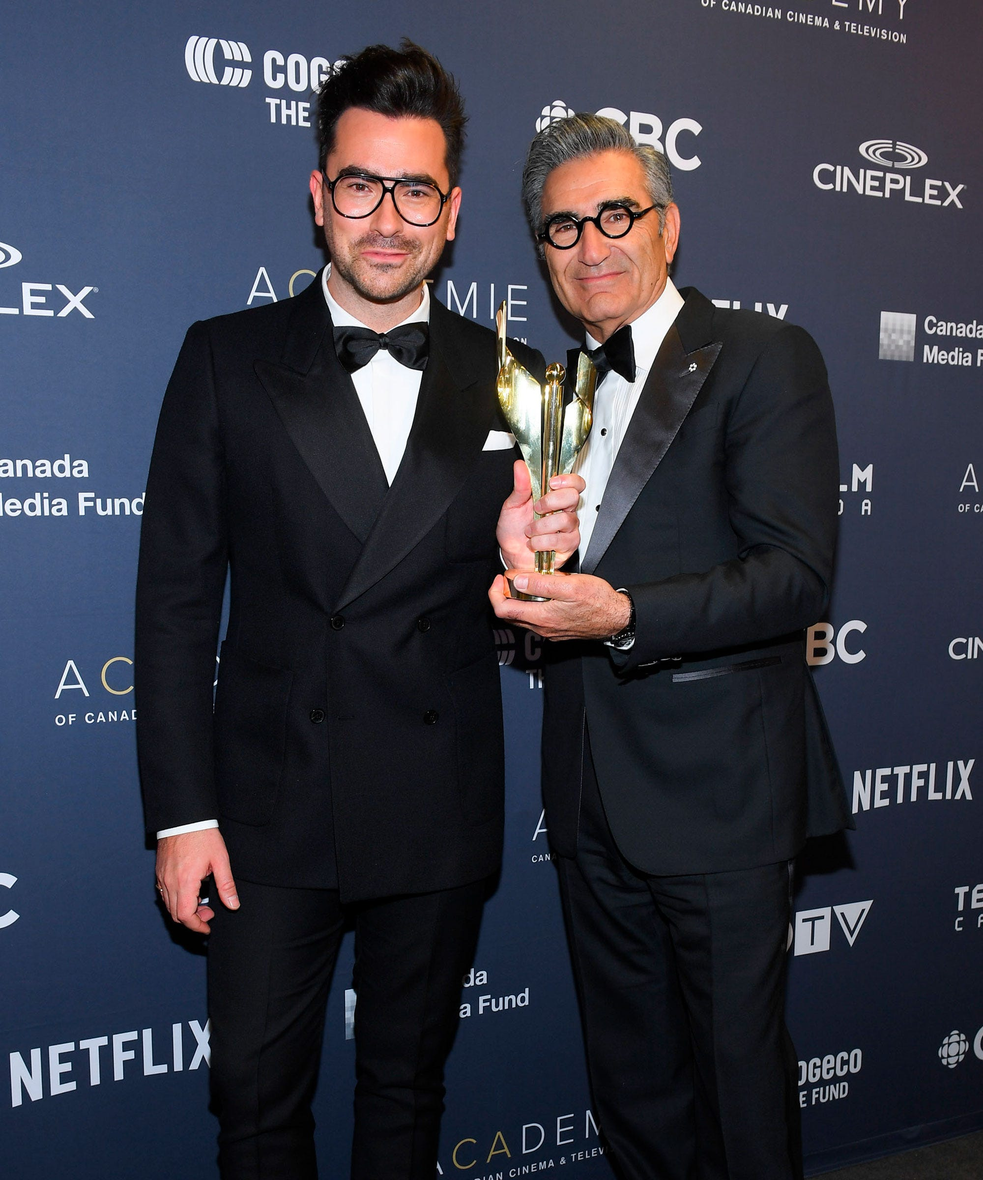 Dan Levy & Stephan James Deliver Powerful CSA Speeches
