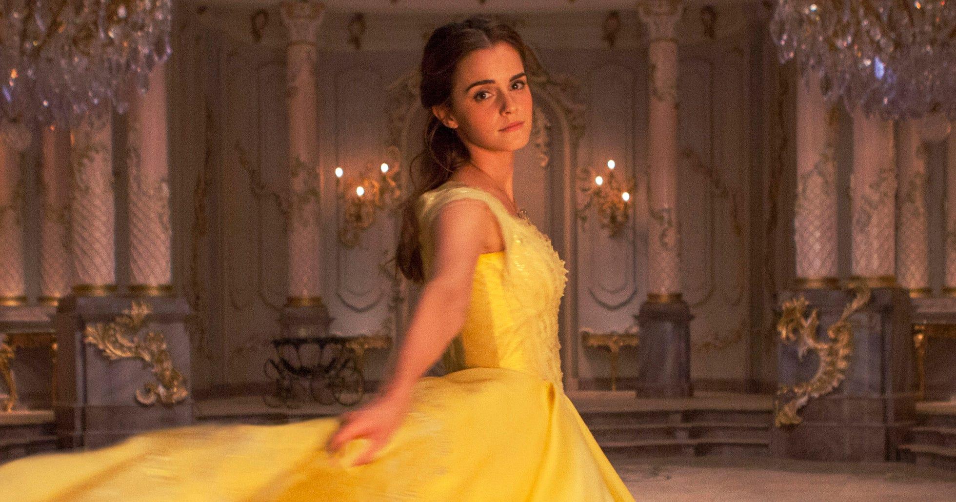 Emma Watson Belle Dress Beauty and the Beast Photo