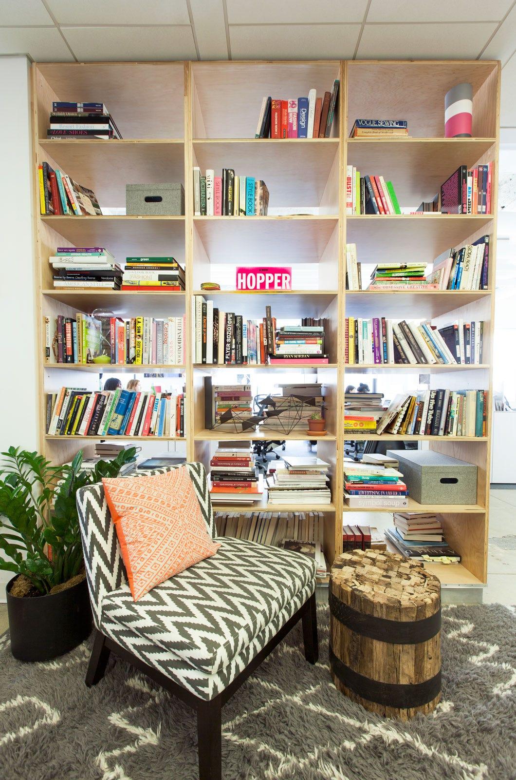 Bookshelf Organization Makeover