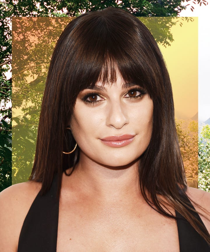 Exactly How Lea Michele Feels About Picking Her Pimples