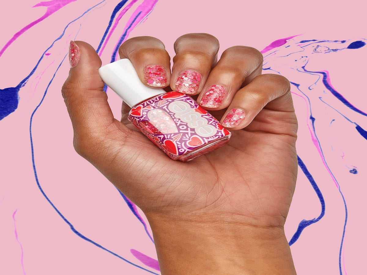 Essie s Brand-New Valentine s Day Nail Polishes Are Sparkly, Sweet, & Only $8