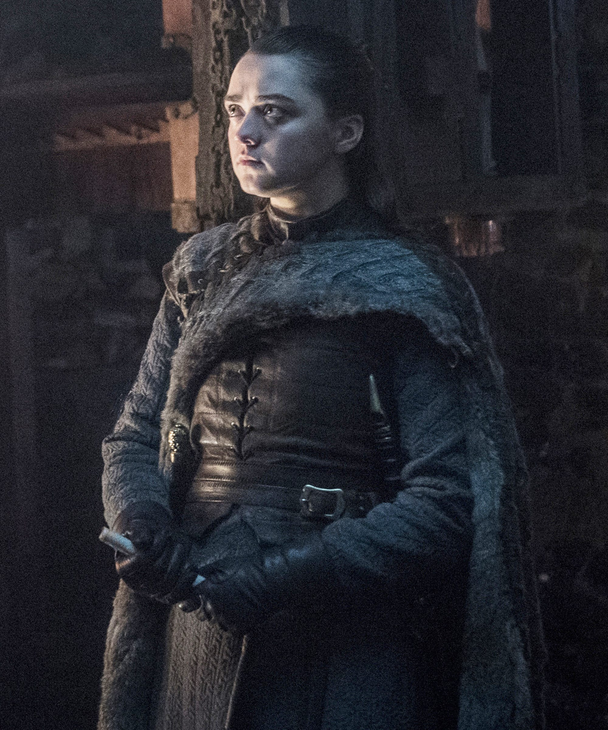 Does This Photo Prove Arya Stark Really Is Going To Kill An Ice Dragon On Thrones?