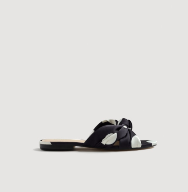 b68fa25f8d2a Zara Floral Slides, $59.99, available at Zara.