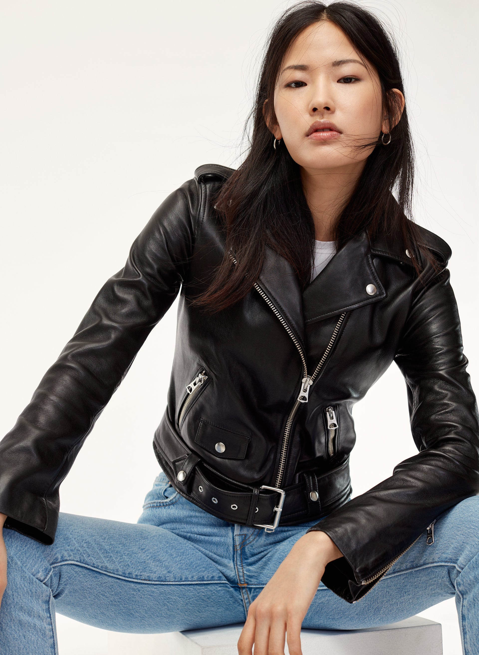 4bb2dbf31 Aritzia Leather Collection Spring Jackets