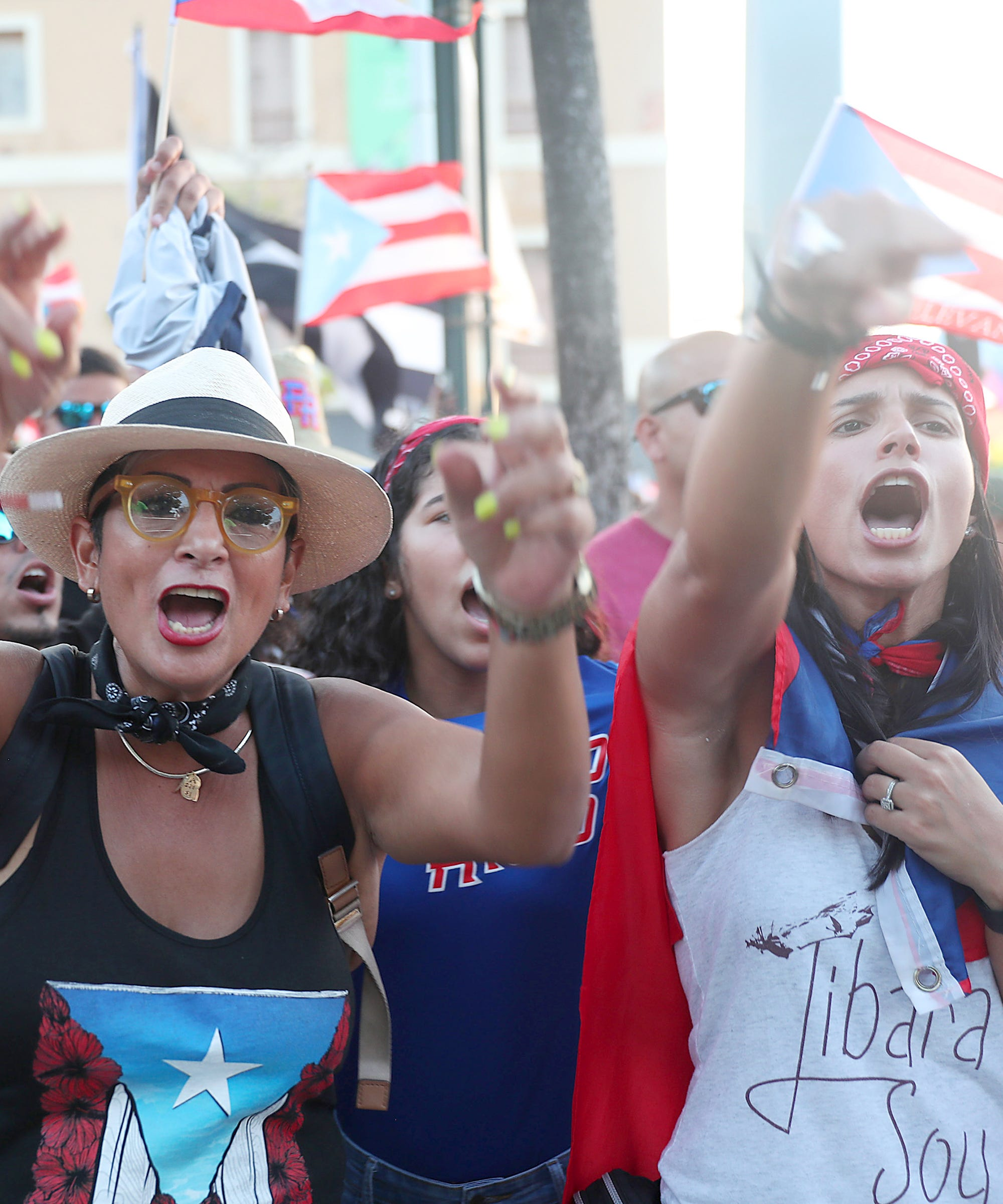 Why I Joined Puerto Rico's History-Making Protest From New York City