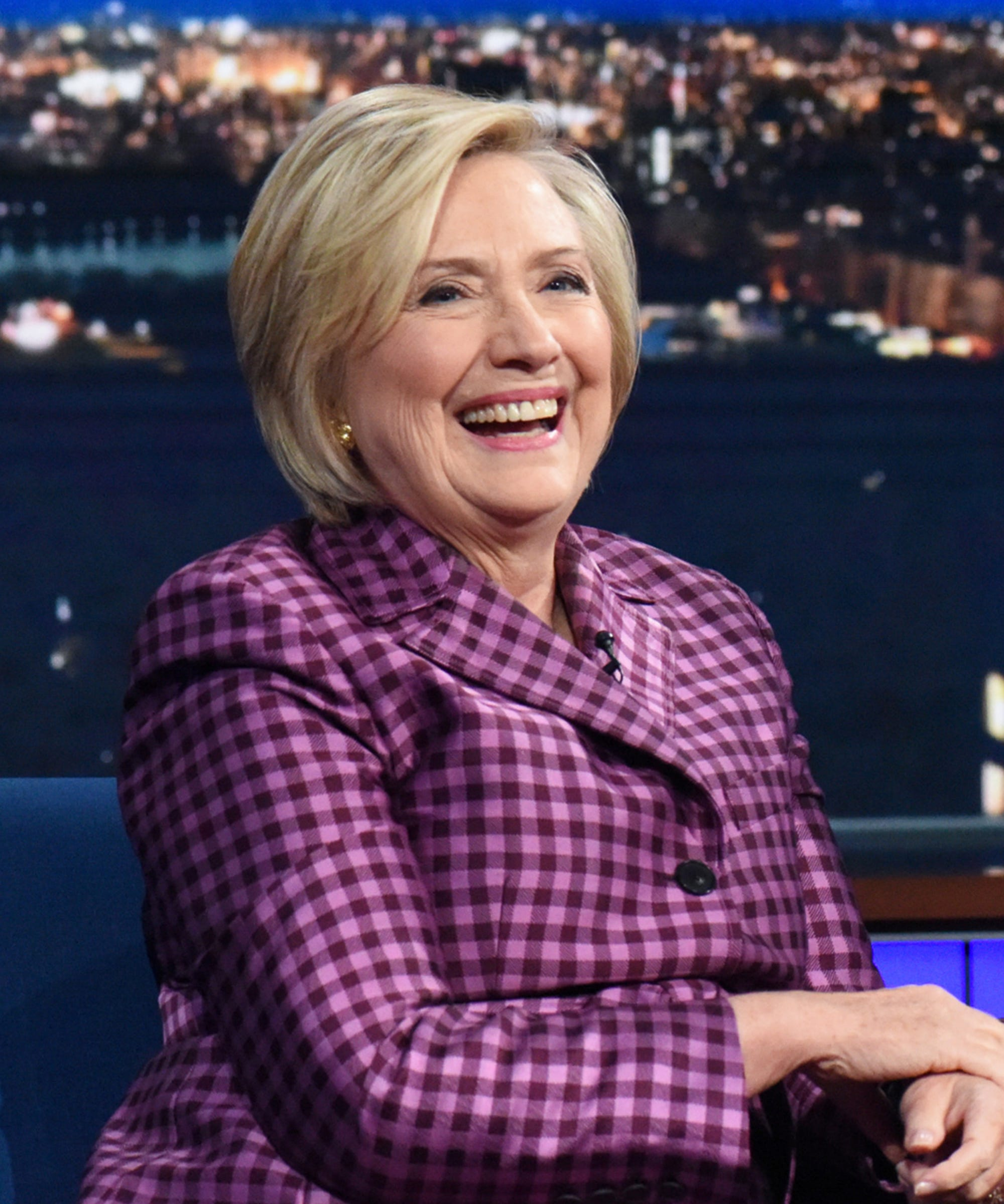 Hillary Clinton Rips Apart Trump's UN Speech In Interview With Stephen Colbert