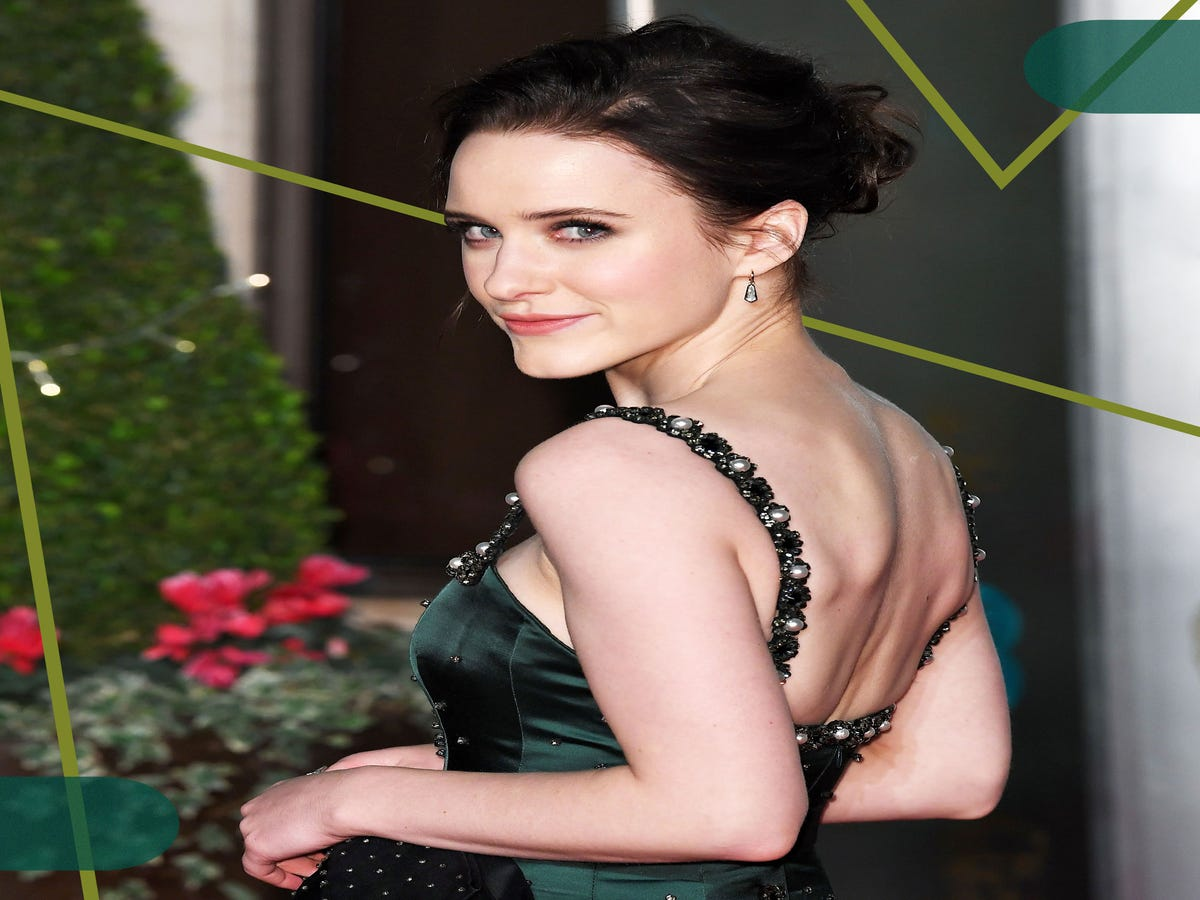 Rachel Brosnahan Just Dyed Her Jet-Black Hair A Dreamy Shade Of Blonde