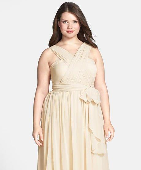 Best Plus-Size Bridesmaid Dresses