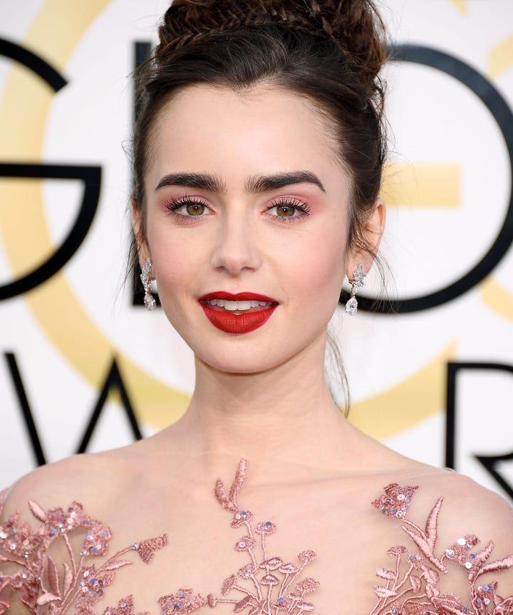 Golden Globes Red Carpet Best Beauty Makeup Looks