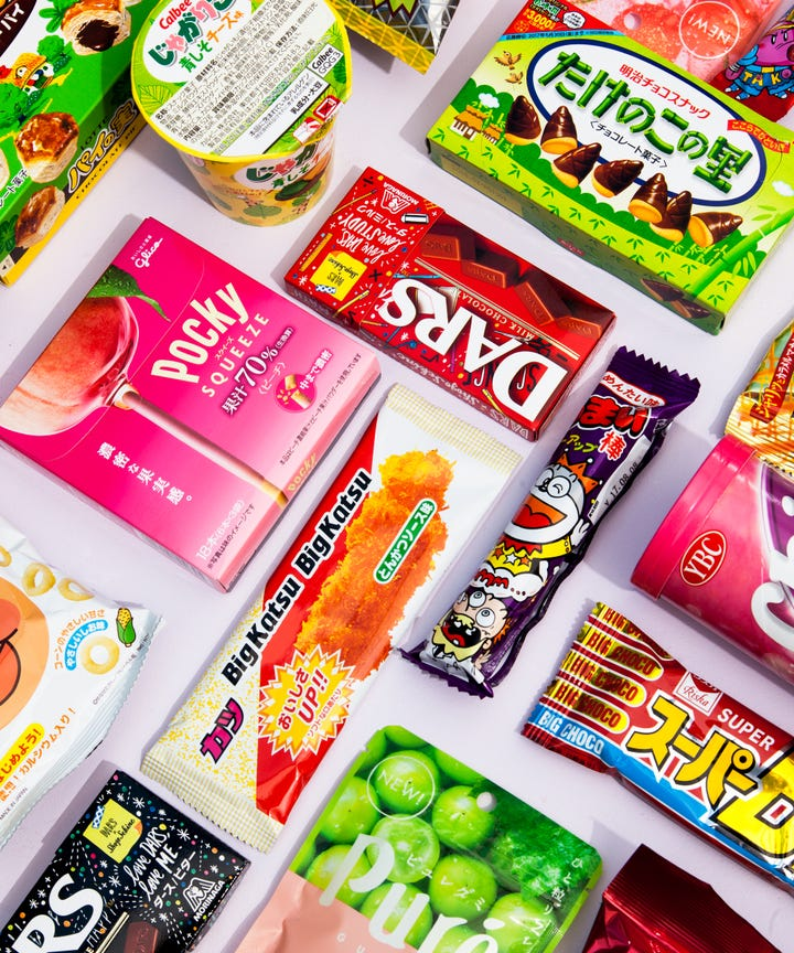 We Sampled 12 Random Japanese Snacks Tried To Guess What They Were