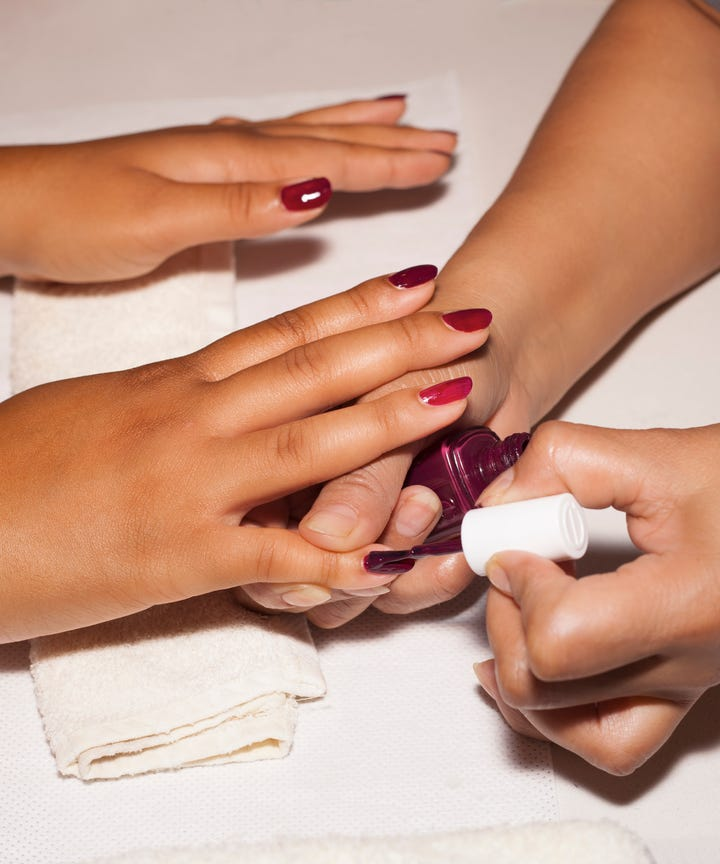 The Simple Nail Art Trend Instagram Loves For Summer