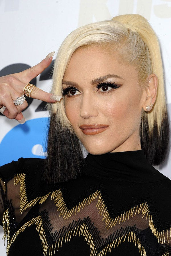 Gwen Stefani Makeup Hair Beauty Evolution Looks