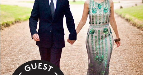 Designer Duds Meet The English Countryside In This Gorgeous Wedding