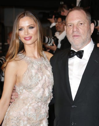 Georgina Chapman, Harvey Weinstein