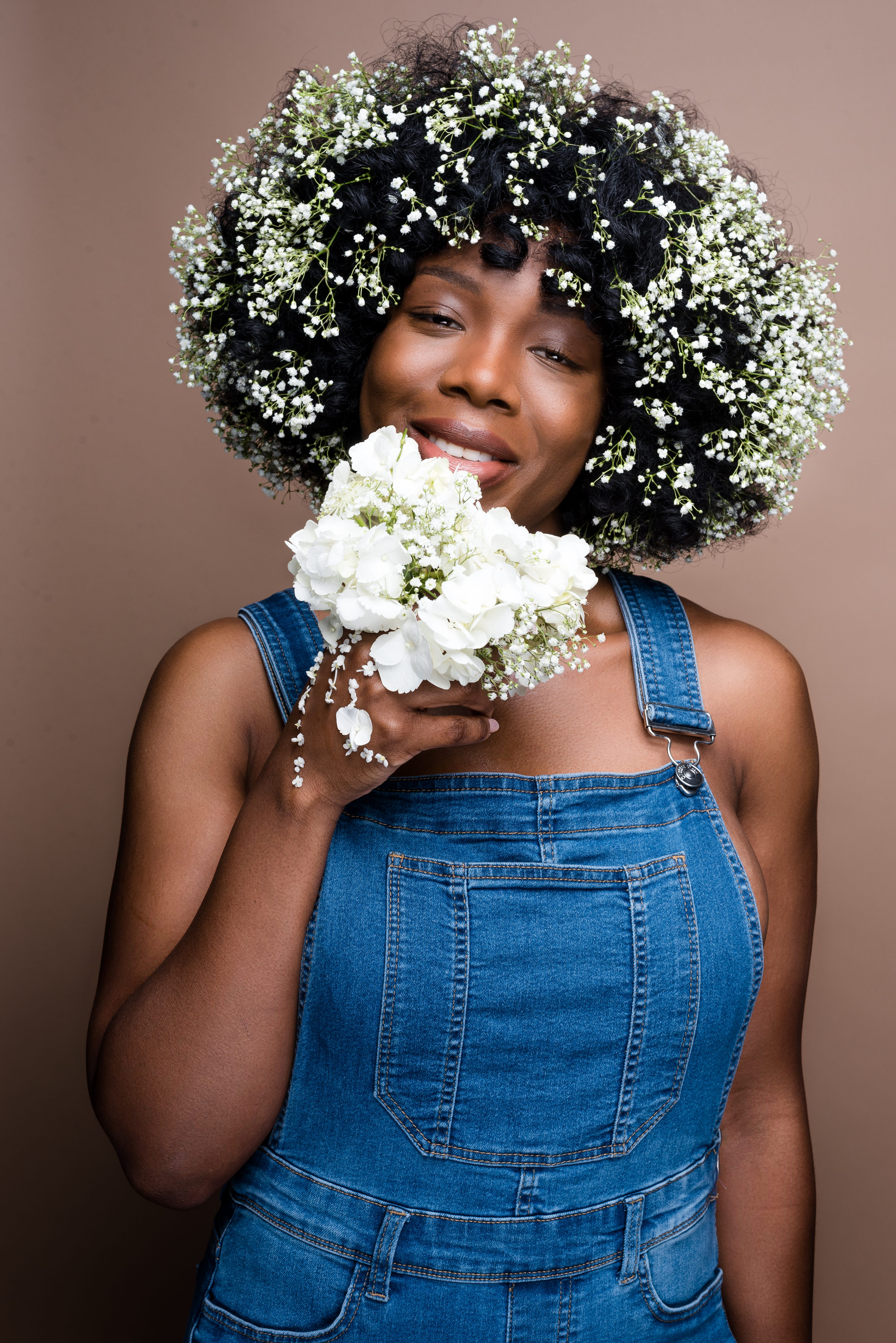 Afro flower hairstyles to wear at panorama festival izmirmasajfo