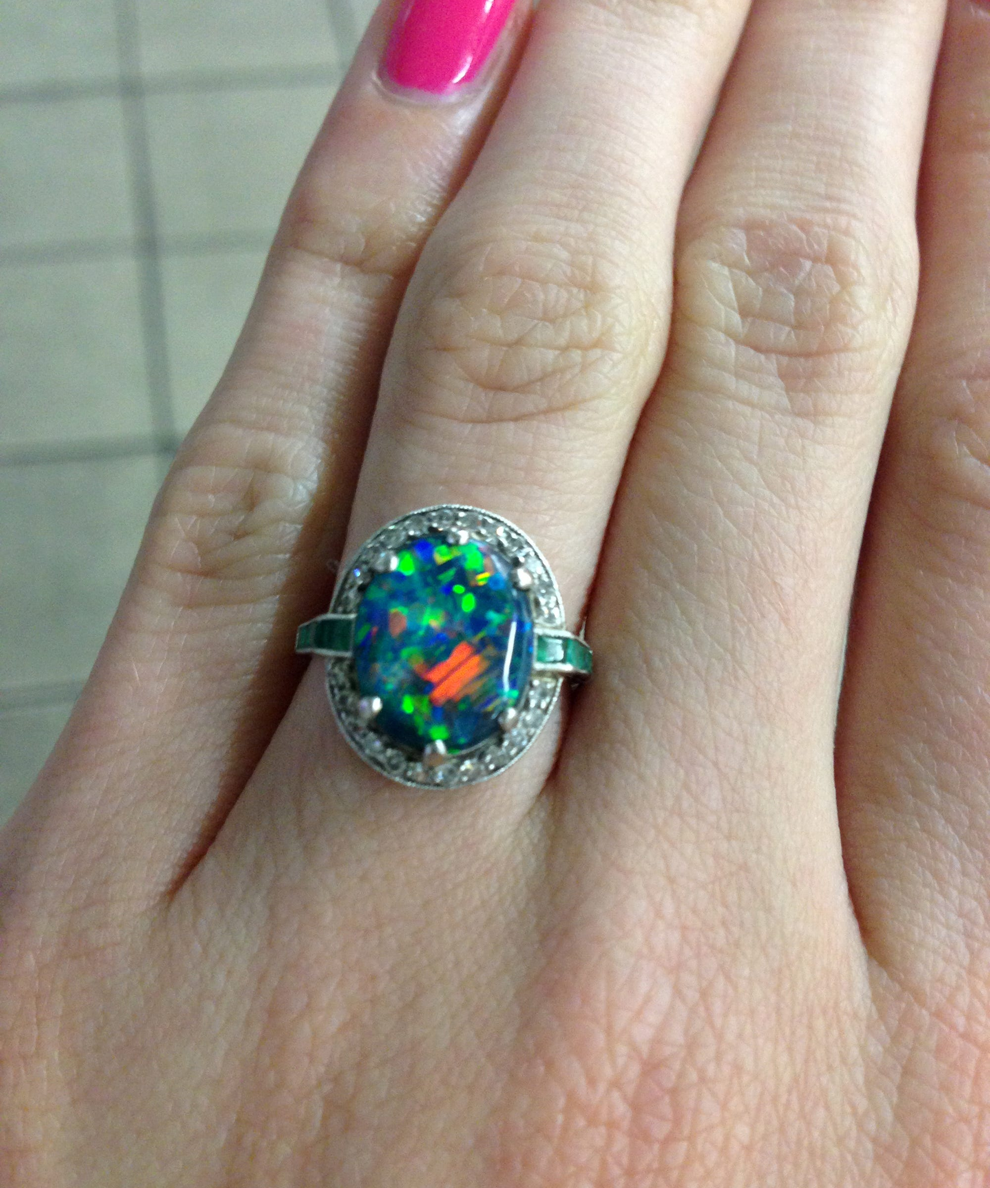 gemstone cut colored engagement ring rings emerald styles the colourful london diamond coloured