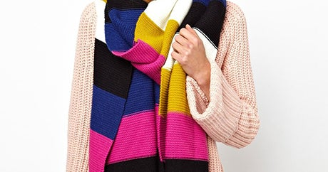 Scarves So Big & Cozy, They Could Double As Blankets