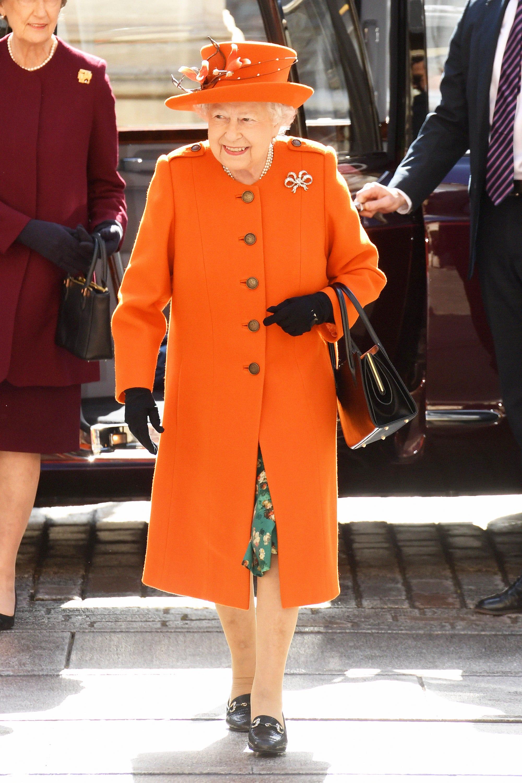 227e5c699 Queen Elizabeth Wears Gucci Loafers