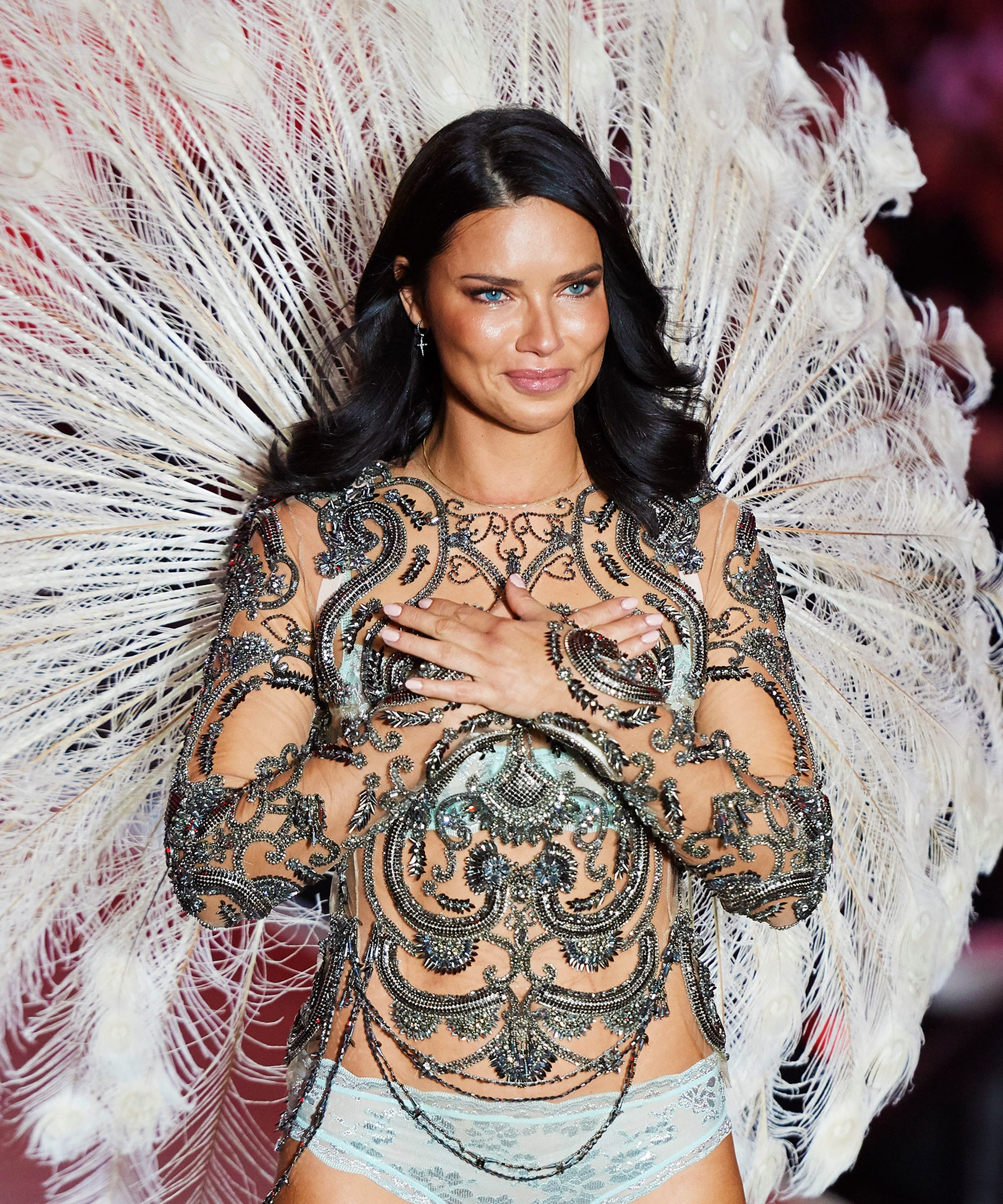 76508ae97a This Year s Victoria s Secret Fashion Show Will Be Adriana Lima s Last