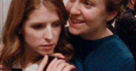 Lena Dunham & Anna Kendrick Feel Things In The Happy Christmas Trailer