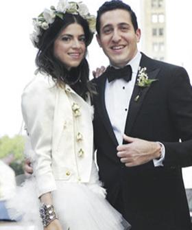 Leandra Medine of The Man Repeller Wedding