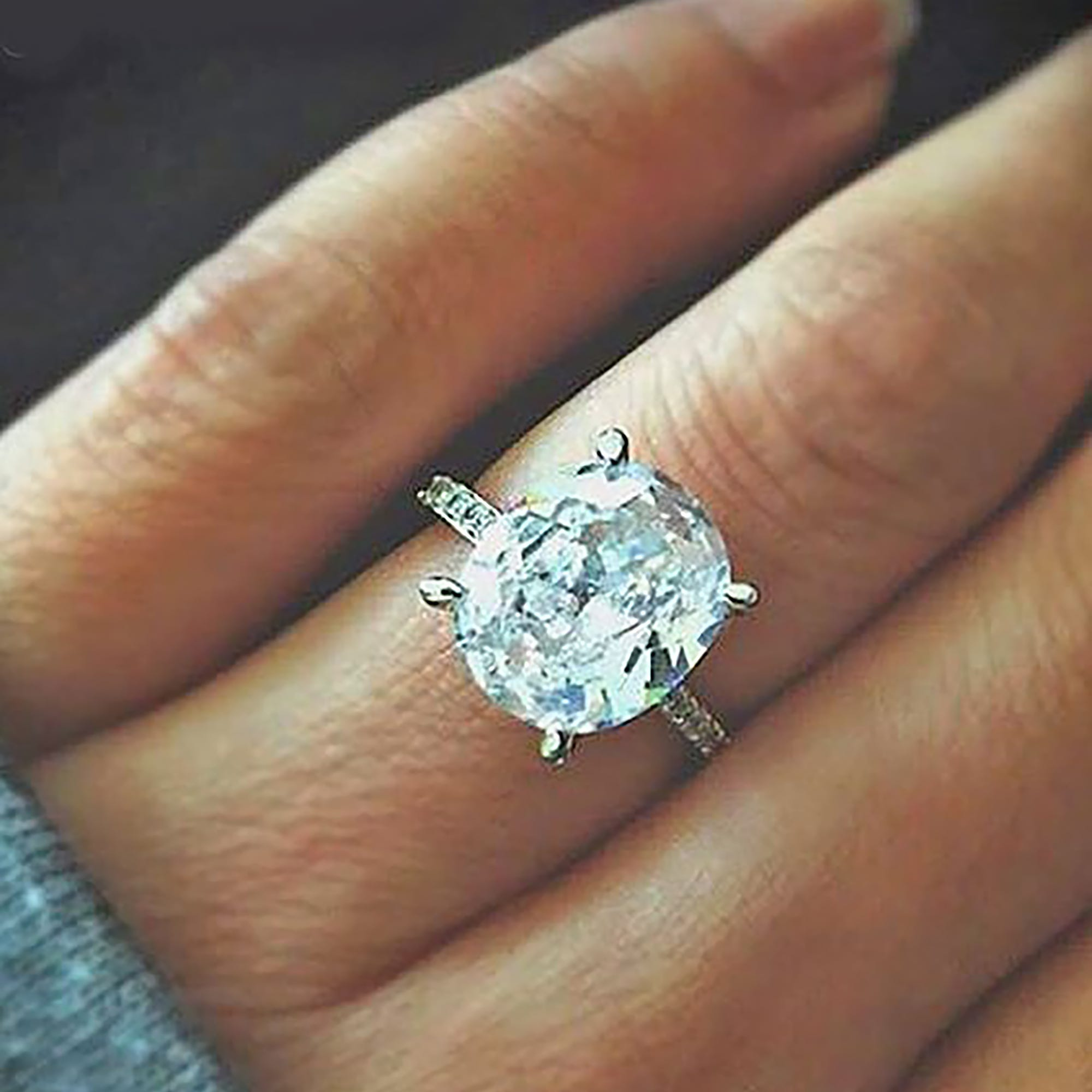 indie adore special gemtalkblog picking with an fashion eye gemstones engagement for i features a super baguette which designers ring unique she halo artfully favorite diamonds and rings cool arranged has diamond