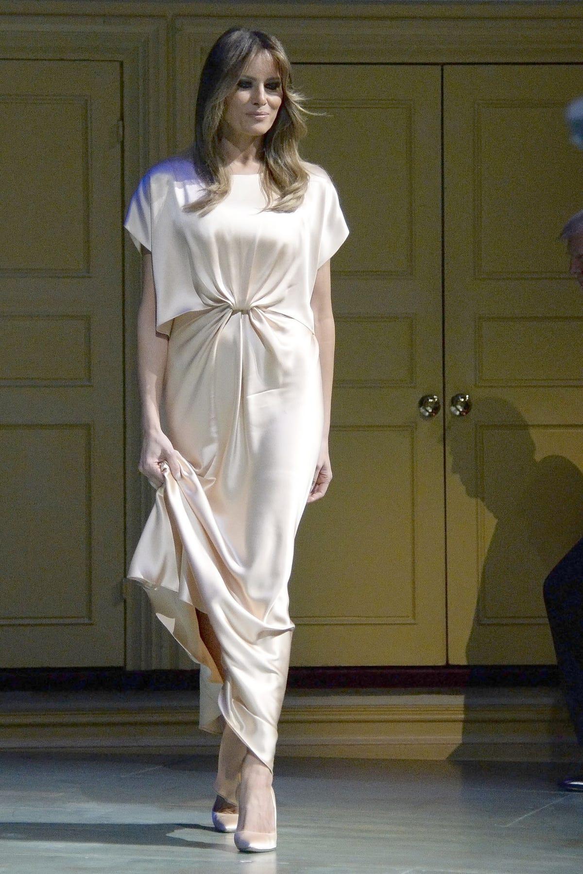 79478fccd0a4b Melania Trump First Lady Wardrobe Fashion PR Backlash