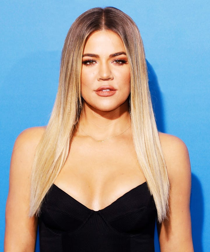 Khloe Kardashian S Colourist Tells For Platinum Blonde