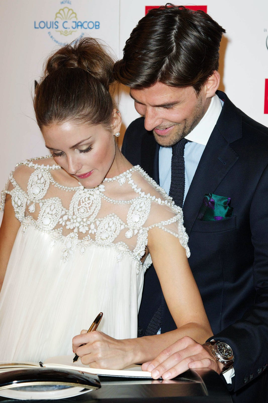Olivia Palermo Wedding Ring Olivia Palermo For Piaget Posession