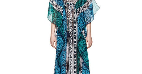 Cover Up At The Beach In These 12 So-Chic Caftans