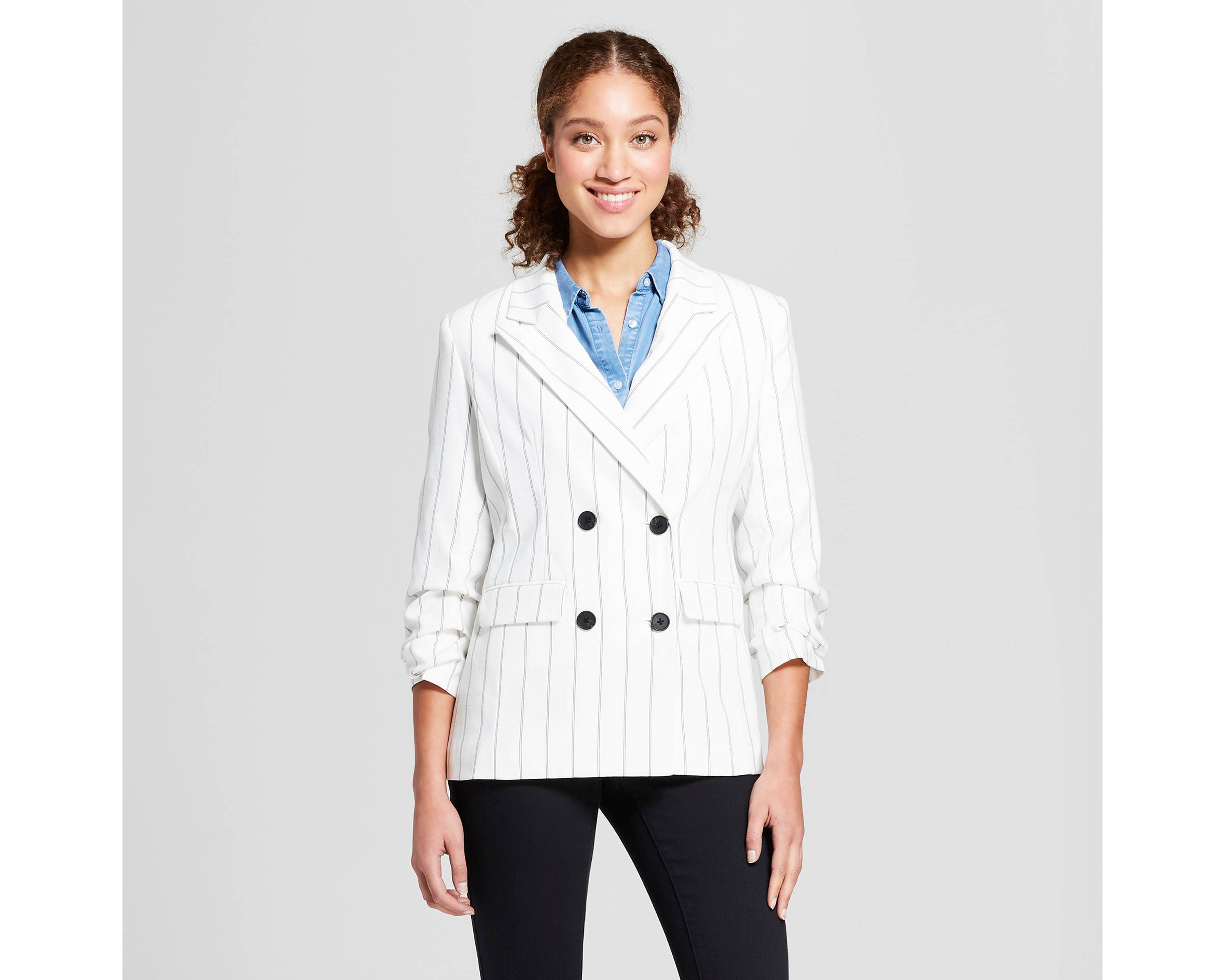 f863b052 Double Breasted Blazers For Women Fall Trend