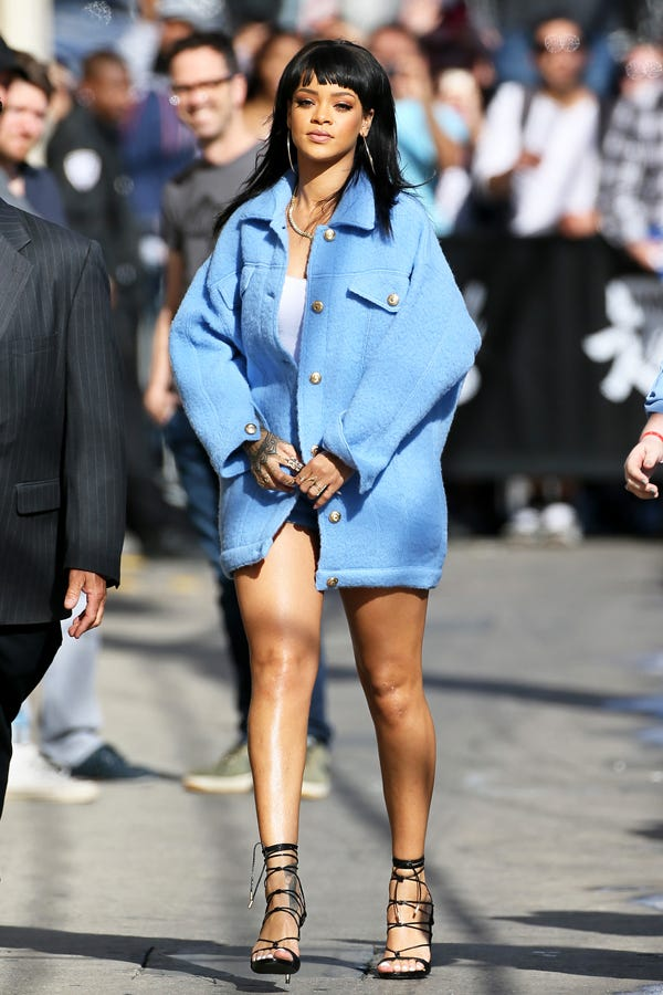 Image result for rihanna outfits street