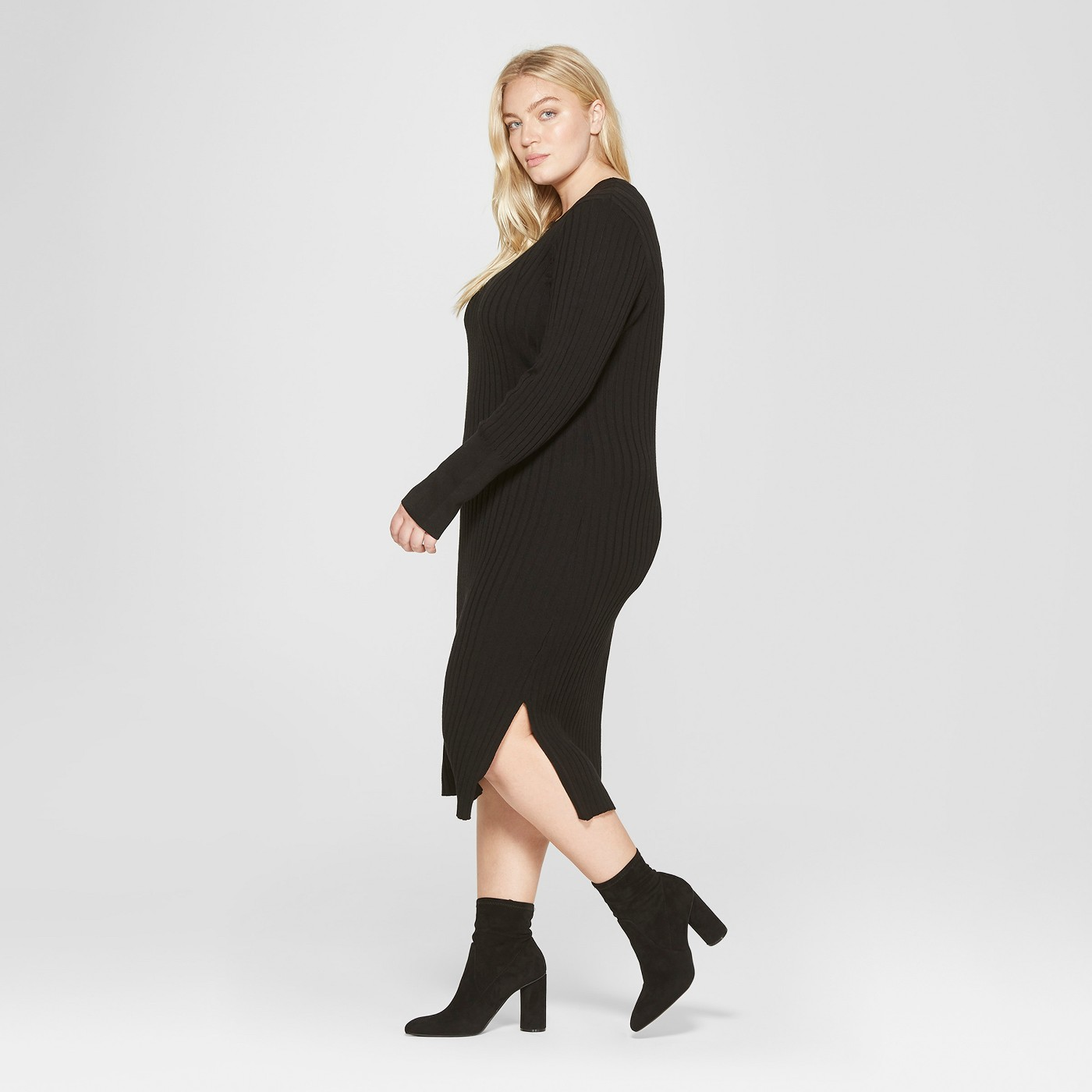 Best Plus Size Sweater Dresses For Women, Winter 2018