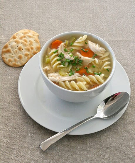 The Lazy Girl's Recipe For Grown-up Chicken Soup