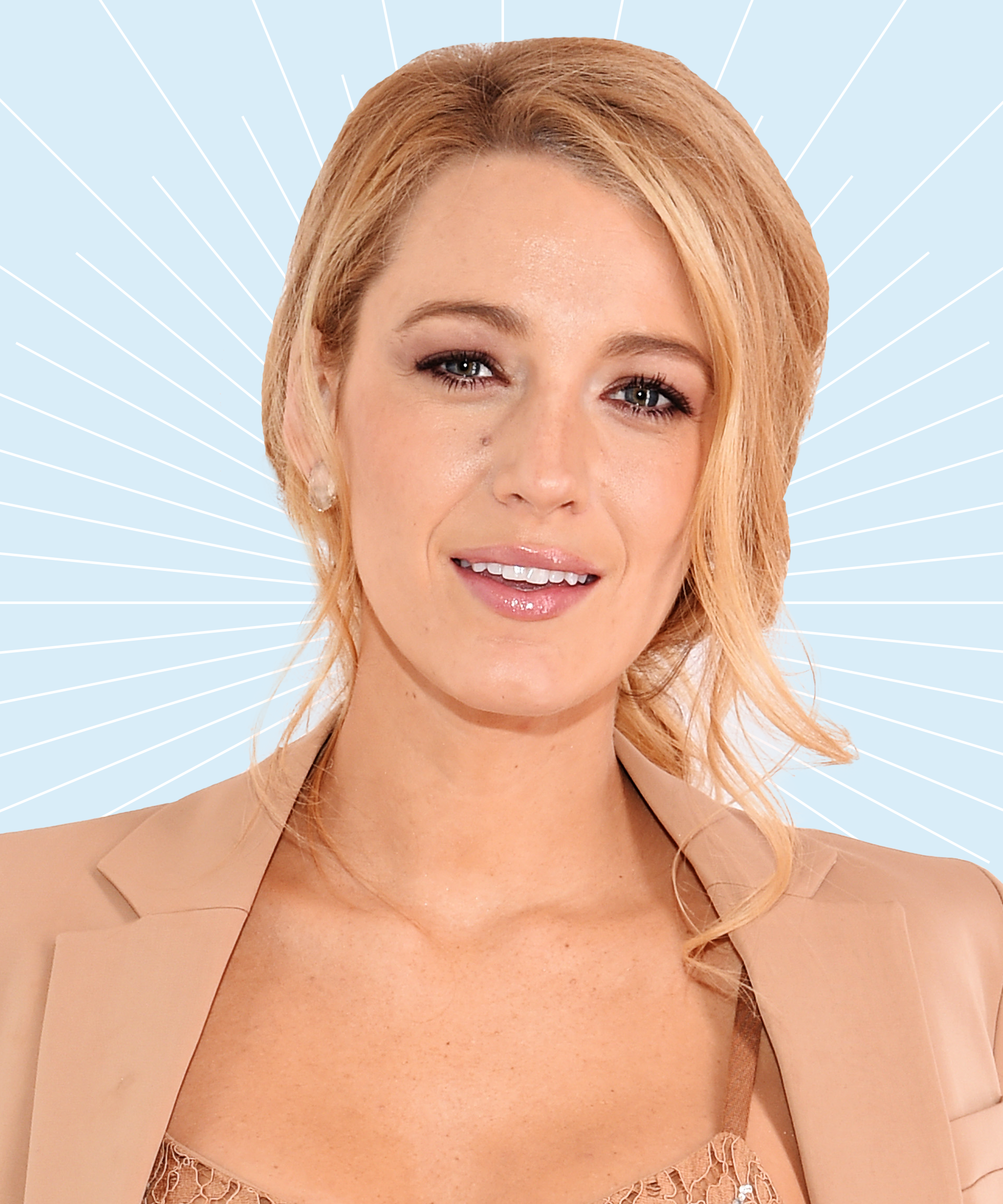 Blake Lively Hairstyles Makeup Hair Color