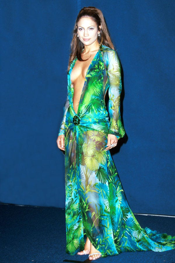 forget what you think you know about this jlo dress