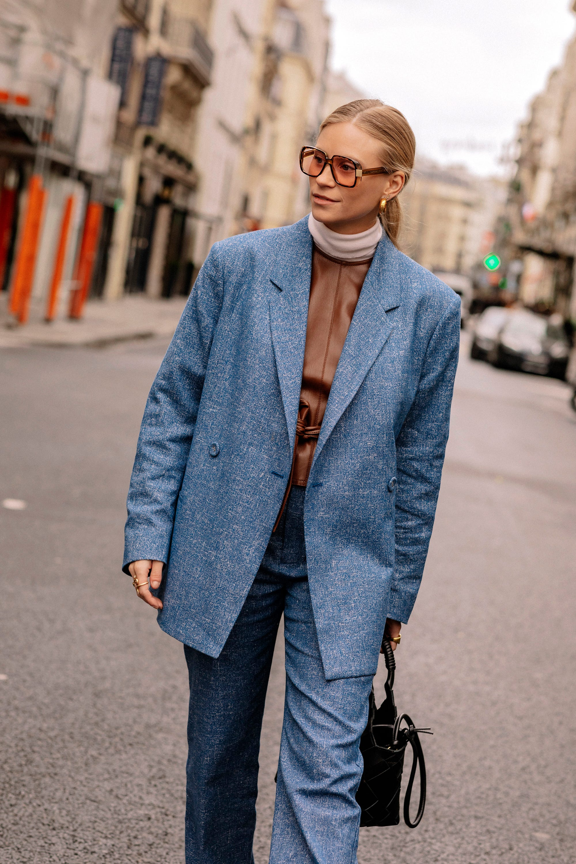 bb68f4449dd5 Paris Fashion Week Winter 2019 Best Street Style