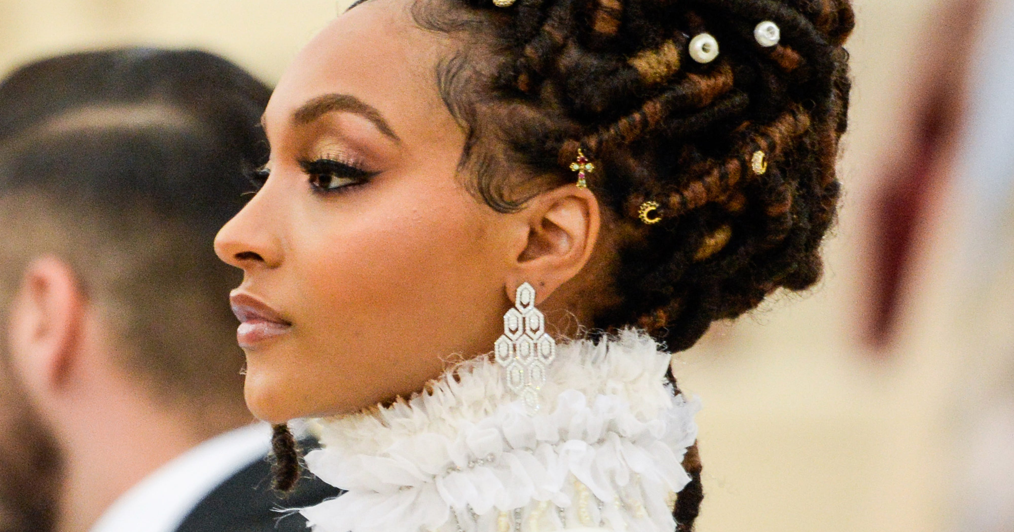 Loc Updos Braids And Twists For Wedding Season