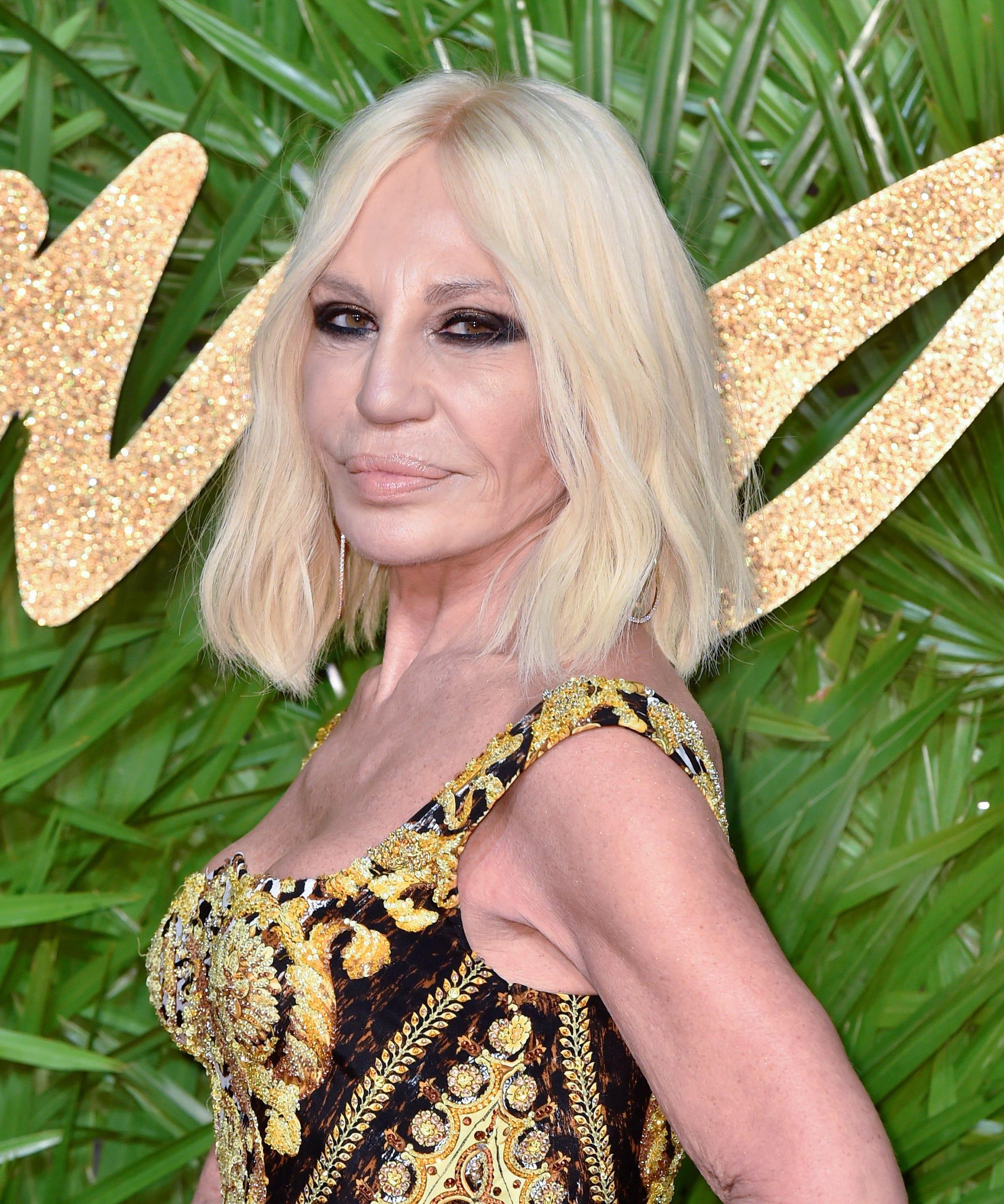 Donatella Versace considers natural beauty 37