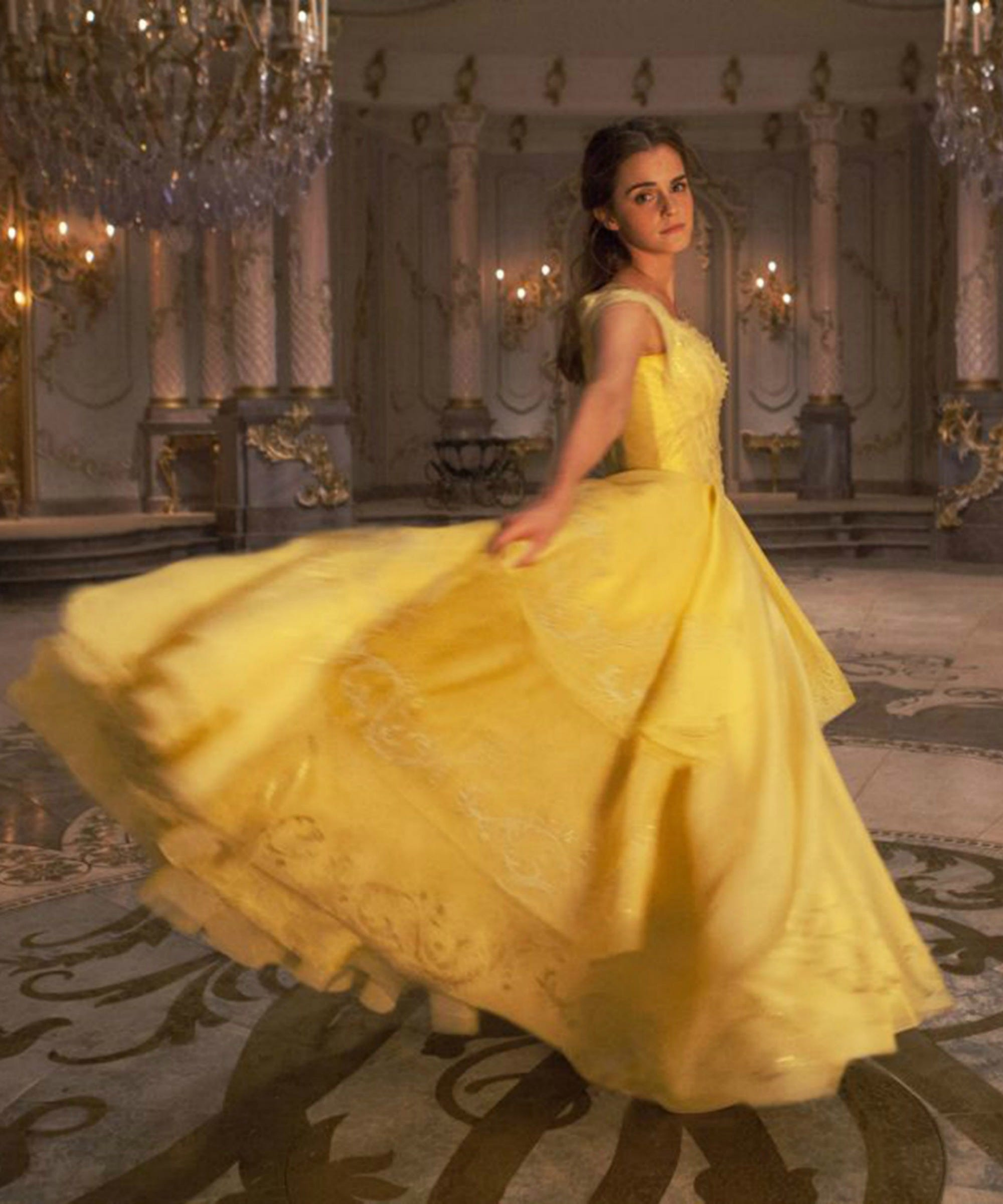 "Emma Watson Nails The Vocals In ""Something There"" From Beauty & The Beast"