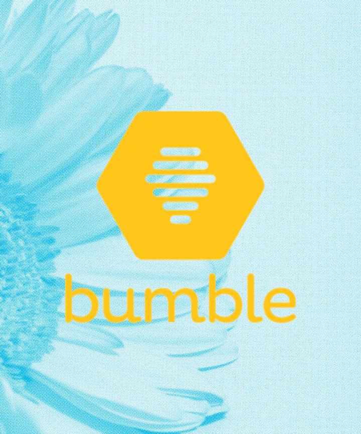 Bumble dating app logos