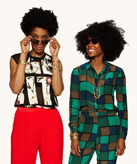 Lizzy And Darlene Okpo, Masters Of High-End, Lazy-Girl Style