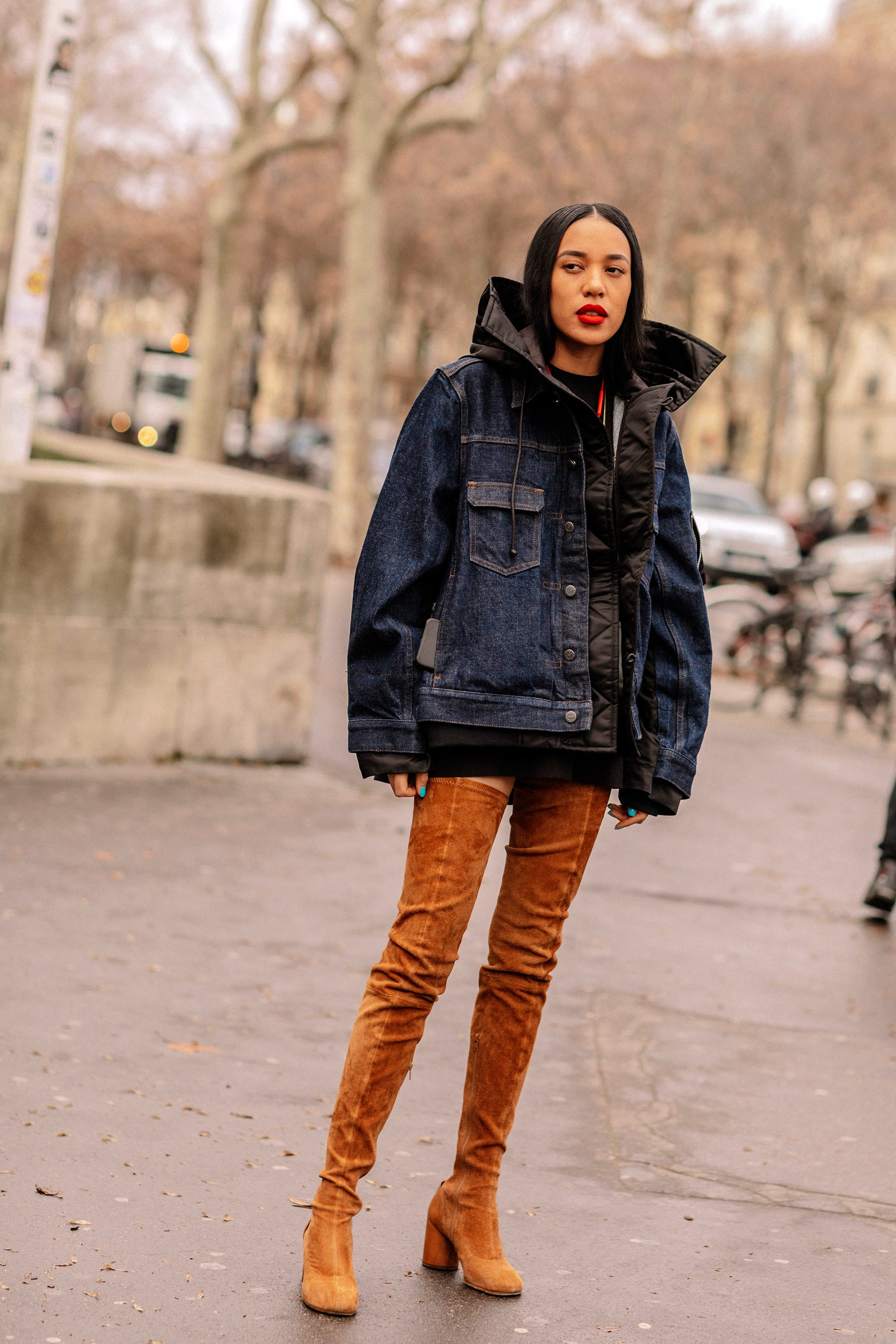 e22bf55921be Paris Fashion Week Winter 2019 Best Street Style