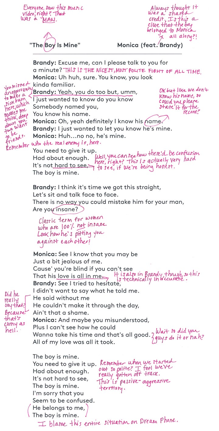 The Boy Is Mine Lyrics, Brandy And Monica Song Meaning