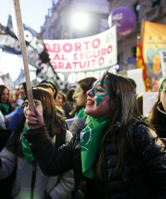 Argentina abortion protest
