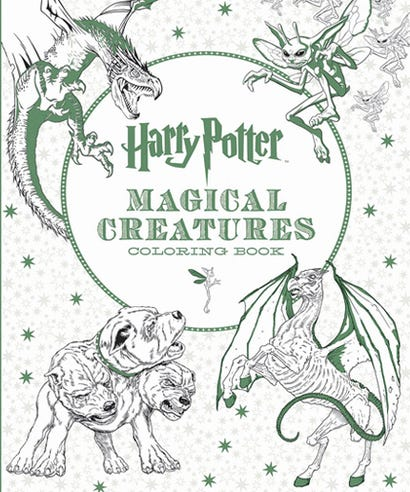 Check Out These Awesome New Harry Potter Coloring Books