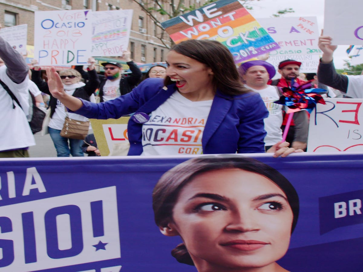 A Conversation With The Director Who Saw The Magic Of AOC Before The Media Did