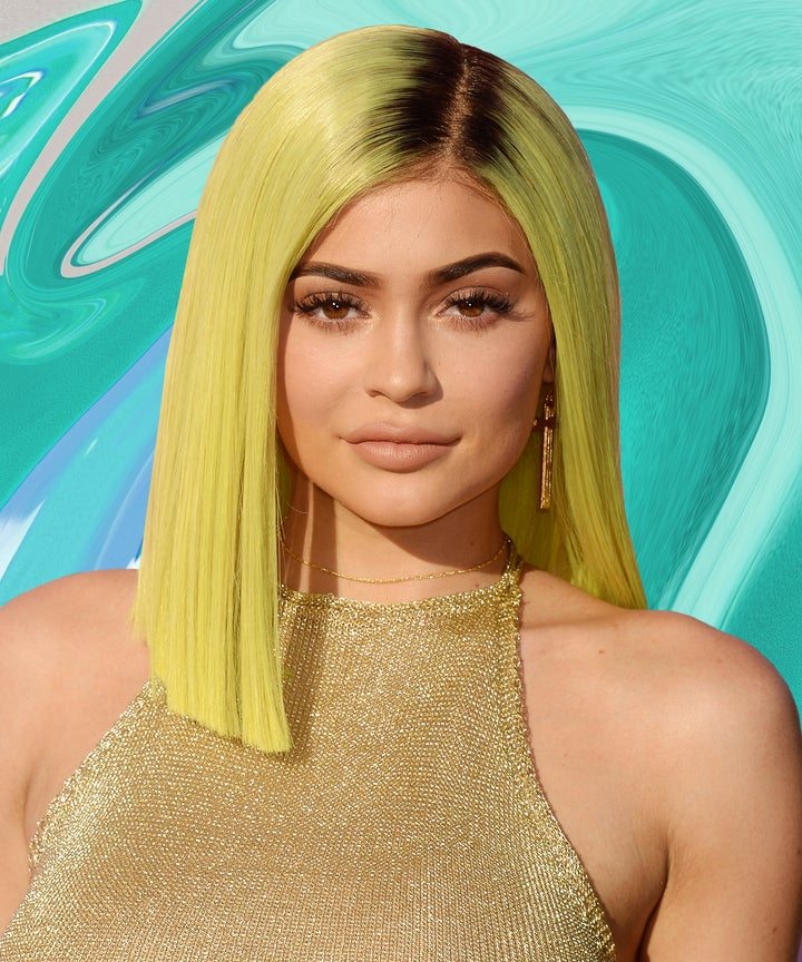 How To Get Kylie Jenner Neon Hair Coachella Manic Panic