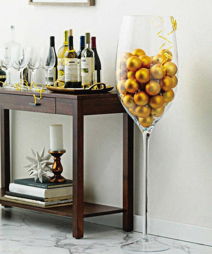 Costco Giant Wine Glass How To Style For Home