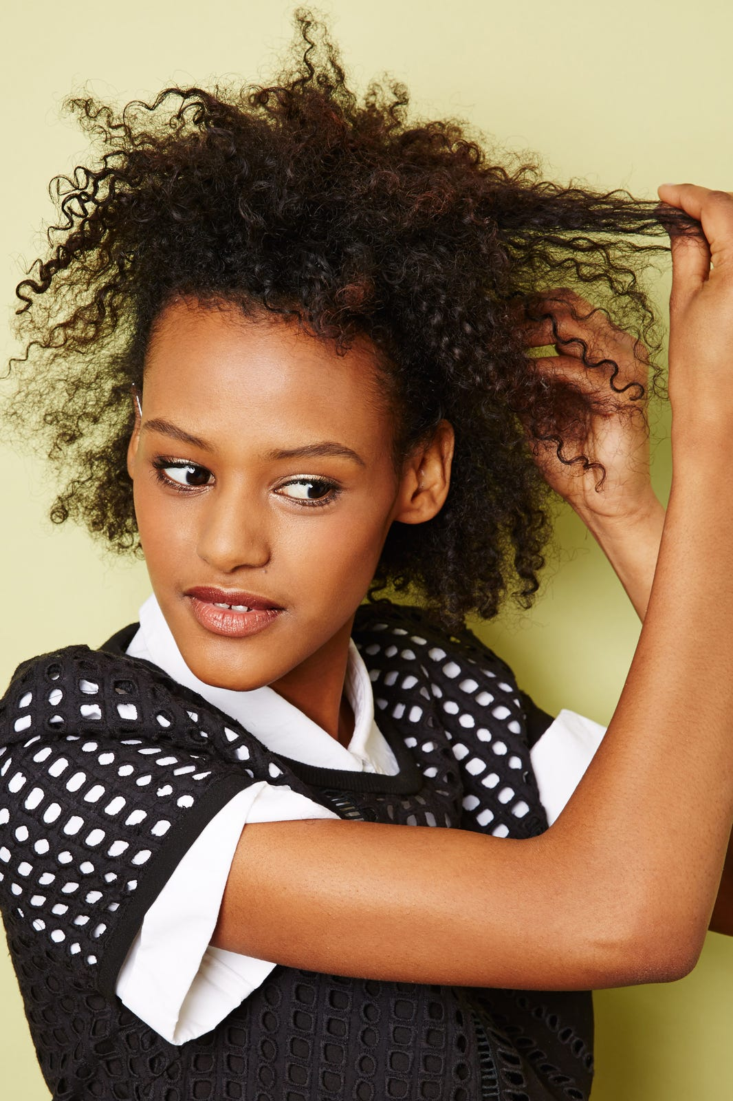 Image result for african hair down